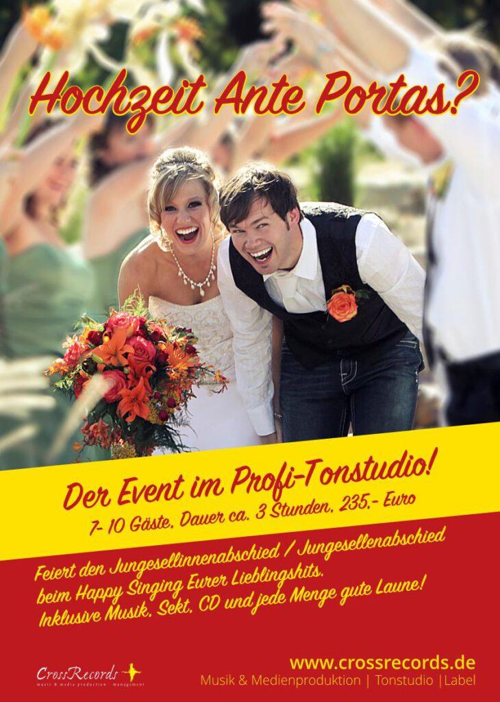 Hochzeit_ante_portas_CrossRecords_event